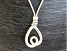 Necklace, £9.95, silver cord 17'' - 20&#39