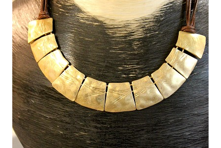 Necklace, £15.50, 17'' - 21'' leng